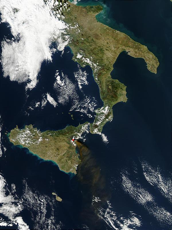 gcse geography mount etna case study