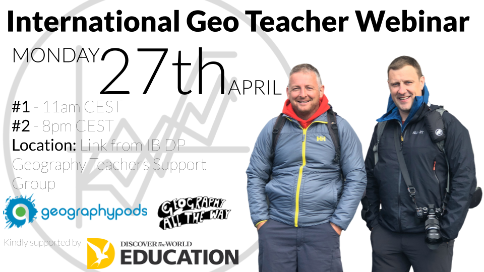 International Geo Teacher Webinar