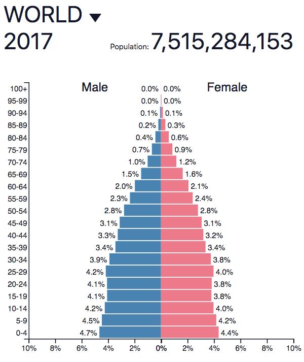 World Population Pyramid