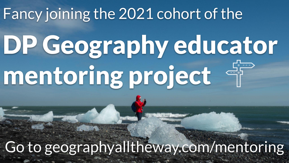 DP Geography educator mentoring project